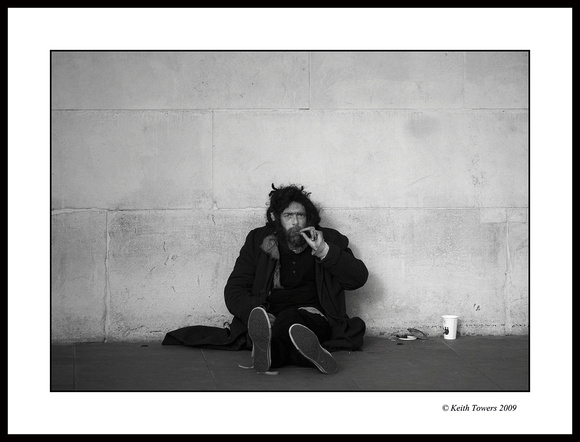 Contentment! The Happy Vagrant - London UK